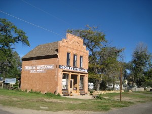 People's Exchange Historic Building, Escalante