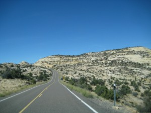 Across the Hogback, Highway 12