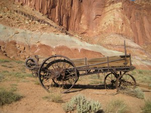 Old Farm implement, Capitol Reef NP