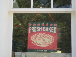 Pies, Scones, Muffins baked daily at Gifford Homestead