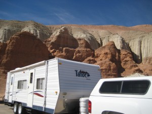 Camp at Goblin Valley State Park