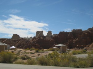 Campsite, Goblin Valley State Park