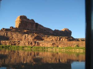Sunset on the Colorado River cruise