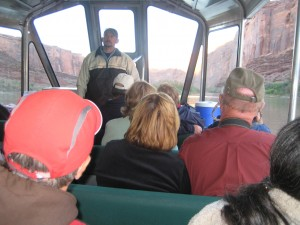 Our Guide on Canyonlands Sunset jetboat cruise