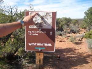 West Rim Trail, Dead Horse State Park