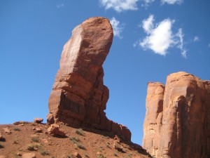 """Thumb"", Monument Valley"