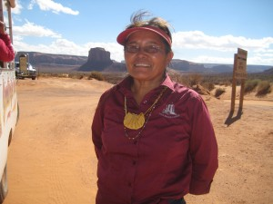 Carol, Our Navajo Guide