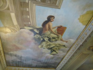 Ceiling Murals, National Theater