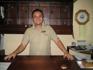 Our helpful staff at Hotel La Rosa De America