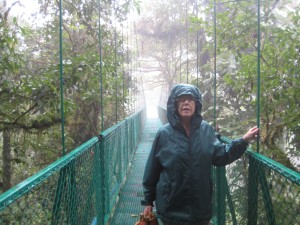 Connie on Sky Bridge