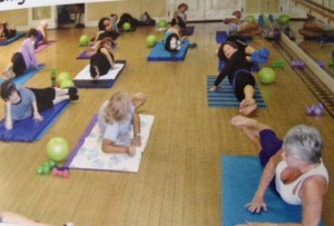 Pilates Class at Sun City