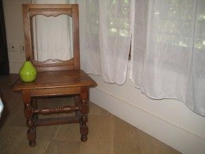 Child's chair crafter by owner's father