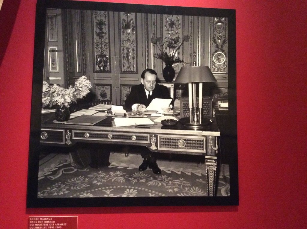 Photo of Andre Malraux, Ministere des Affaires