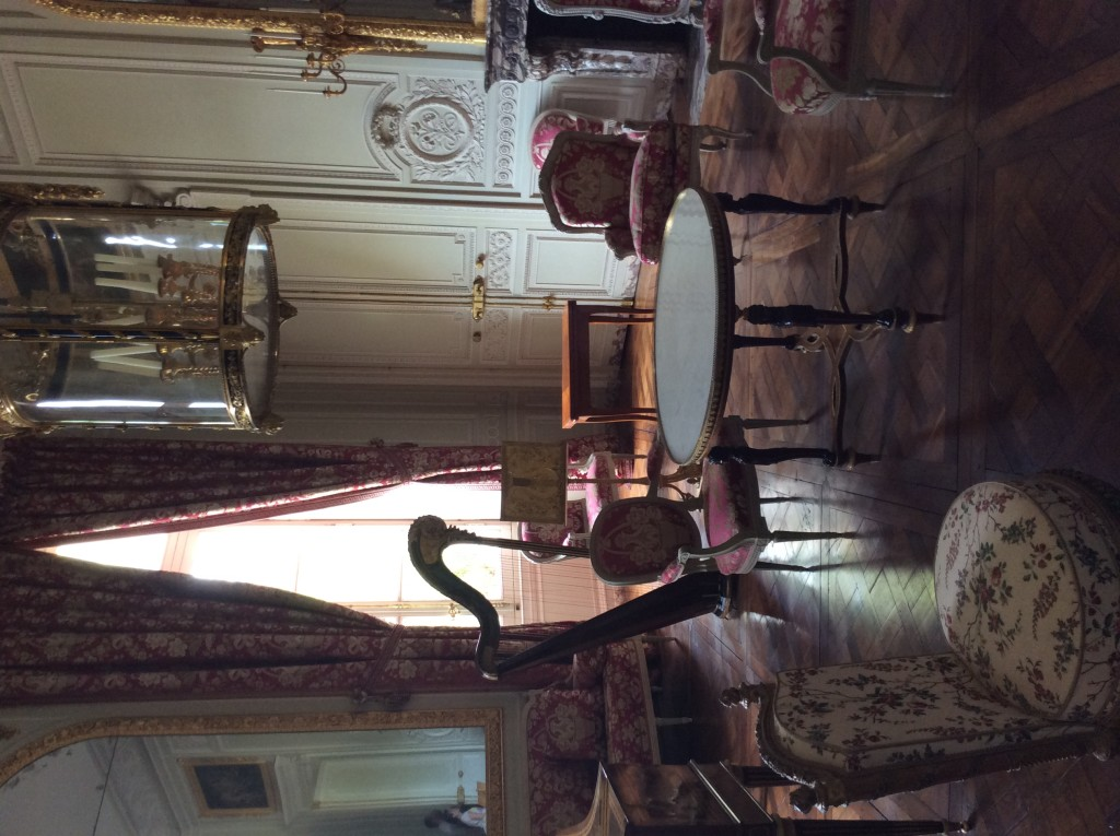 The Salon de compagnie, game room and music room of the Petit Trianon